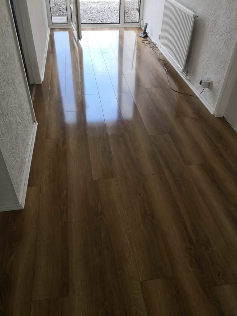 Canadia Prestige Rustic Oak Gloss Laminate Flooring - The Carpet Shop Southport