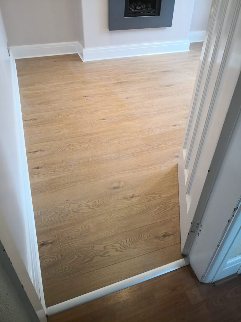 Canadia Prestige Light Colorado Oak Laminate Flooring | The Carpet Shop at the Mews | Southport