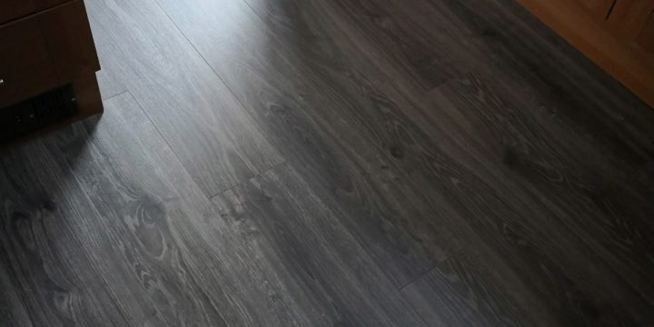 EGGER PRO Dark Lasken Oak Laminate Flooring | The Carpet Shop | Southport