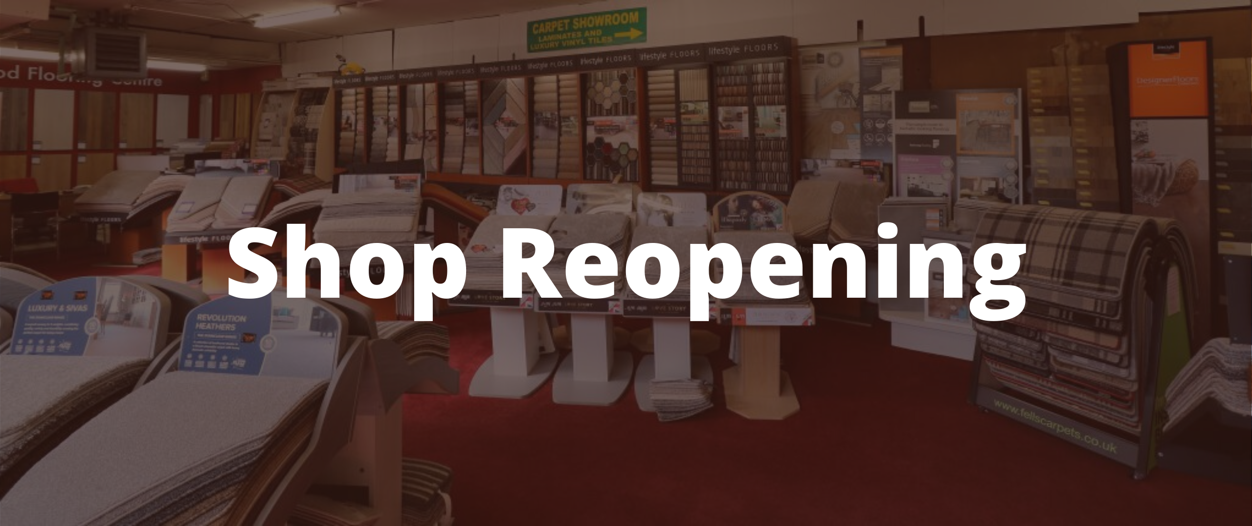The Carpet Shop Southport | Shop Reopening