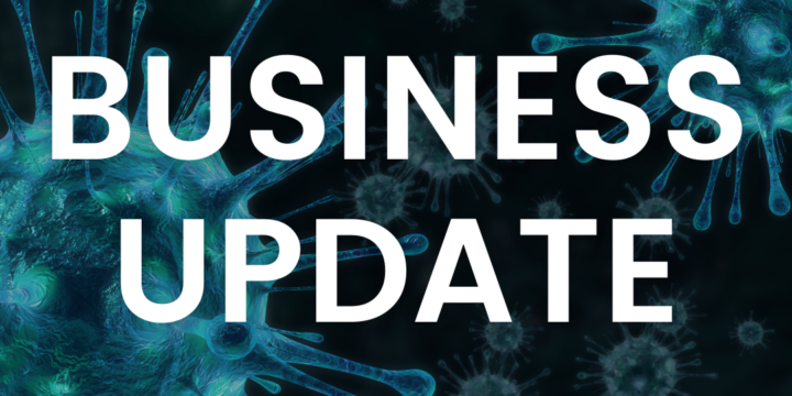 Business Update – Lockdown 2