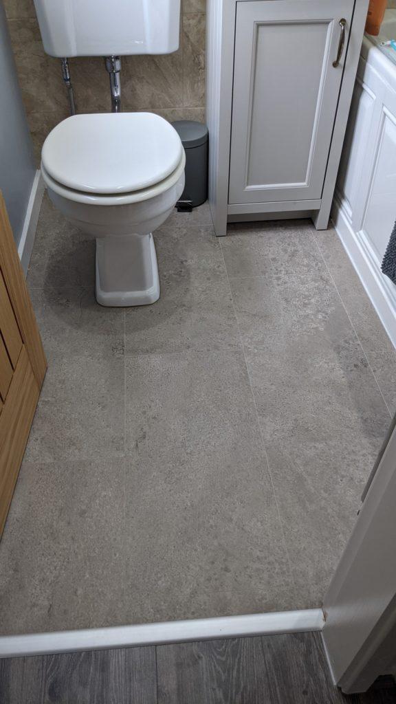 Flat Refurbishment Burscough | EGGER Pro Laminate Flooring | The Carpet Shop | Southport | Sefton | West Lancashire